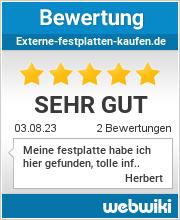 Bewertungen zu externe-festplatten-kaufen.de