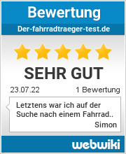 Bewertungen zu dein-fahrradtraeger.de