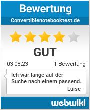 Bewertungen zu convertiblenotebooktest.de