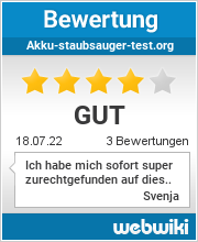 Bewertungen zu akku-staubsauger-test.org
