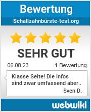 Bewertungen zu schallzahnbürste-test.org