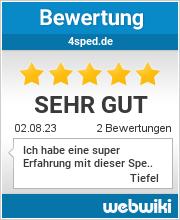 Bewertungen zu 4sped.de