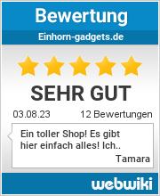 Bewertungen zu einhorn-gadgets.de