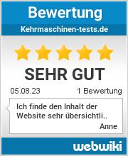 Bewertungen zu kehrmaschinen-tests.de