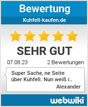 Bewertungen zu kuhfell-kaufen.de
