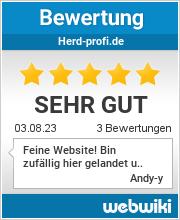 Bewertungen zu herd-profi.de