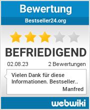 Bewertungen zu bestseller24.org