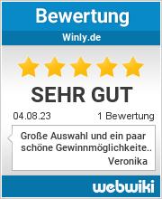 Bewertungen zu winly.de