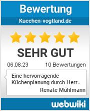 Bewertungen zu kuechen-vogtland.de