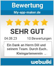 Bewertungen zu my-app-maker.de