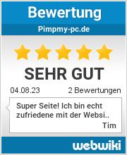 Bewertungen zu pimpmy-pc.de