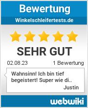 Bewertungen zu winkelschleifertests.de