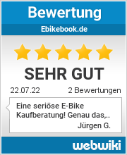 Bewertungen zu ebikebook.de