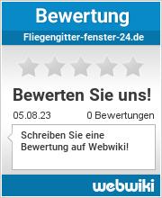 Bewertungen zu fliegengitter-fenster-24.de