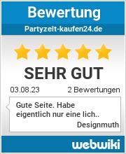 Bewertungen zu partyzelt-kaufen24.de