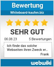 Bewertungen zu whiteboard-kaufen.biz