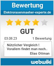 Bewertungen zu elektrorasenmaeher-experte.de