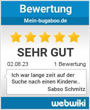 Bewertungen zu mein-bugaboo.de