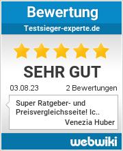 Bewertungen zu testsieger-experte.de