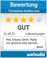 Bewertungen zu trampoline-kaufen.com
