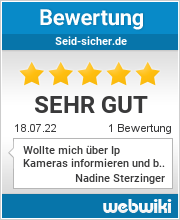 Bewertungen zu seid-sicher.de