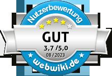 cuzina.de Bewertung