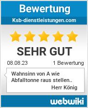 Bewertungen zu ksb-dienstleistungen.com