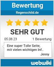 Bewertungen zu regenschild.de