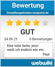 Bewertungen zu dampfbuegelstation-testportal.de