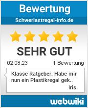 Bewertungen zu schwerlastregal-info.de