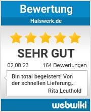 Bewertungen zu halswerk.de