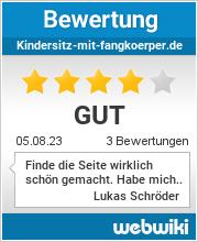 Bewertungen zu kindersitz-mit-fangkoerper.de