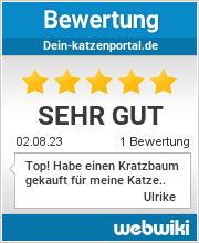 Bewertungen zu dein-katzenportal.de