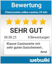 Bewertungen zu cherrycasino.online-casinos-24.info