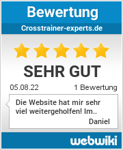 Bewertungen zu crosstrainer-experts.de