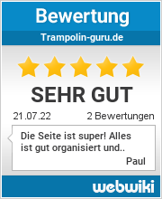 Bewertungen zu trampolin-guru.de