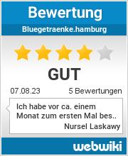 Bewertungen zu bluegetraenke.hamburg