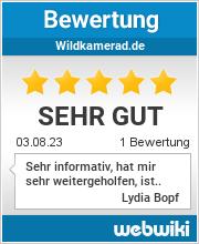 Bewertungen zu wildkamerad.de