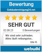 Bewertungen zu gebäudereinigung24.net