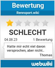 Bewertungen zu rennsport.wiki