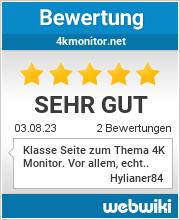 Bewertungen zu 4kmonitor.net
