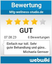 Bewertungen zu mfg-wellness-studio.de