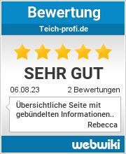 Bewertungen zu teich-profi.de