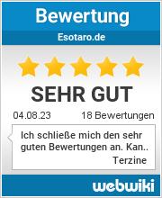 Bewertungen zu esotaro.de