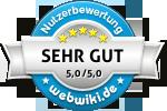 Fünf Sterne Deluxe Bewertung für Fehmarn-inselreif.de
