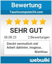 Bewertungen zu tauchcomputer24.com