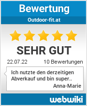 Bewertungen zu outdoor-fit.at