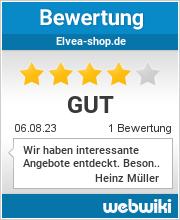 Bewertungen zu elvea-shop.de