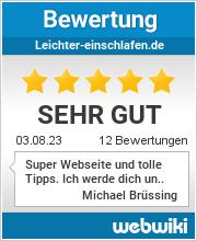 Bewertungen zu leichter-einschlafen.de