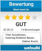 Bewertungen zu meet-beef.de